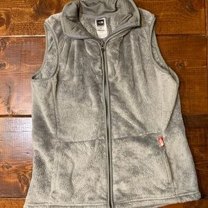 The North Face Osito Gray Fleece Vest